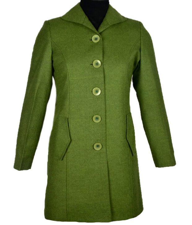 Go Gossip Bottle Green Coat