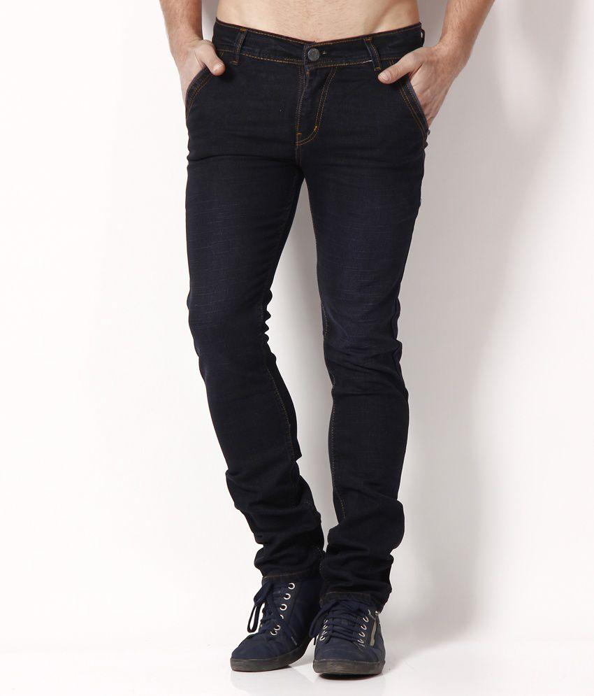 Nation Mania Trendy Deep Blue Basics Jeans