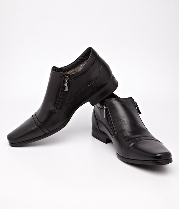 aa2150598bef Cobblerz Black Formal Shoes Price in India- Buy Cobblerz Black Formal Shoes  Online at Snapdeal