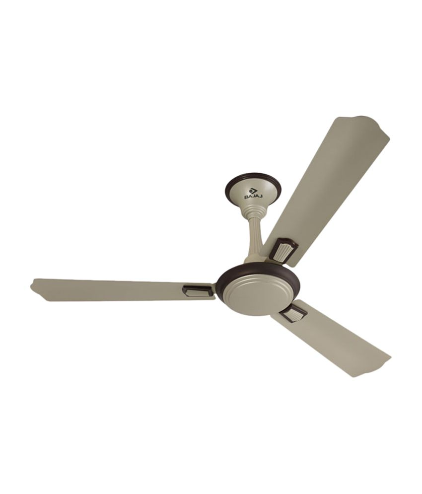 Bajaj Ceiling Fan 1200 Mm Elegance 4 Star Kashmir Beige