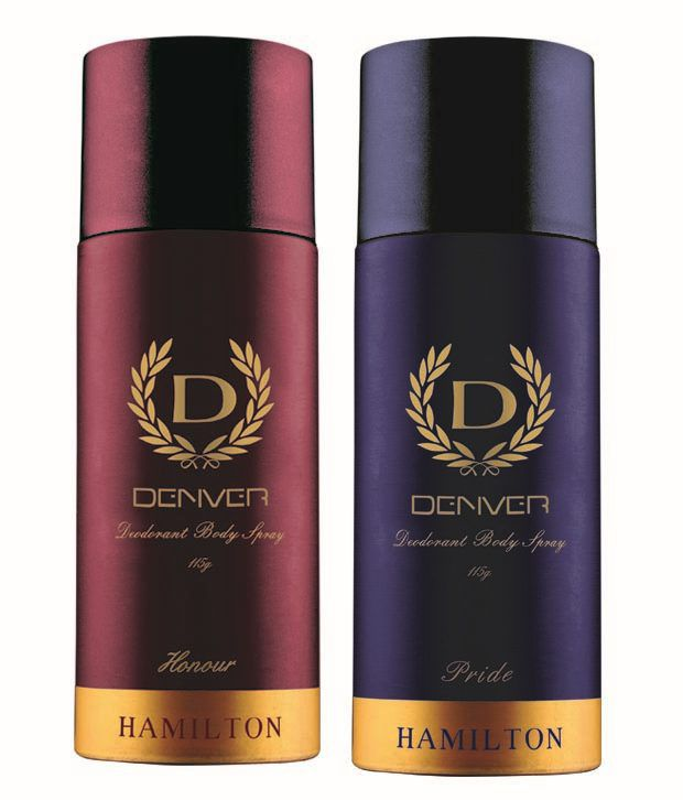 32f5bdbbb015 Denver Pride and Honor Deodorants 115gm Each -(pack of 2): Buy Online at Best  Prices in India - Snapdeal