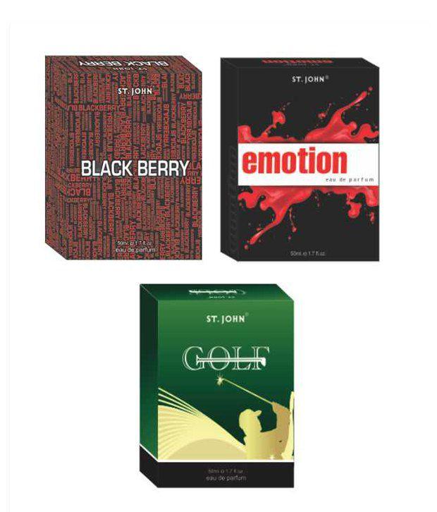 Vi-John EMOTIONS & GOLF & BLACK BERRY EDP 50ml Each