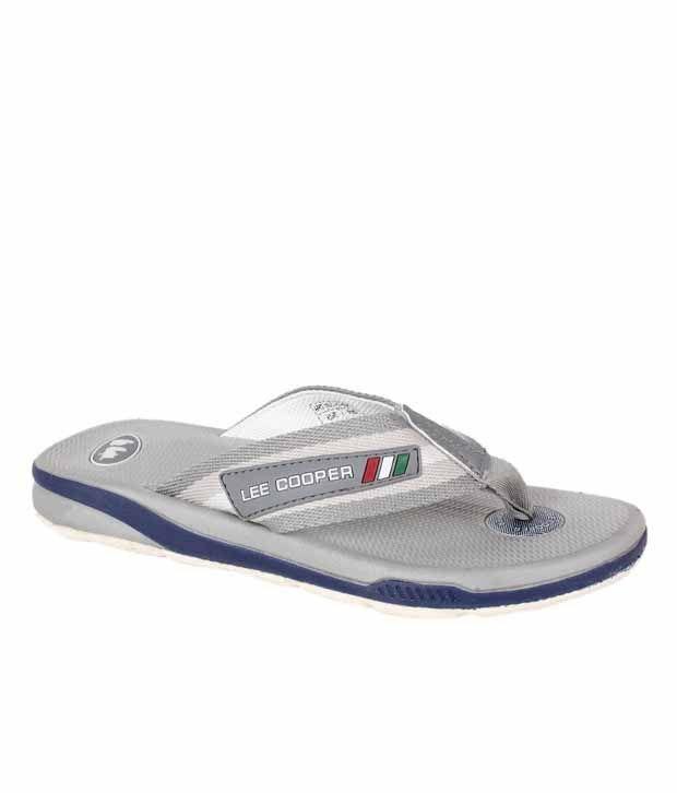 Lee Cooper Cool Grey Slippers