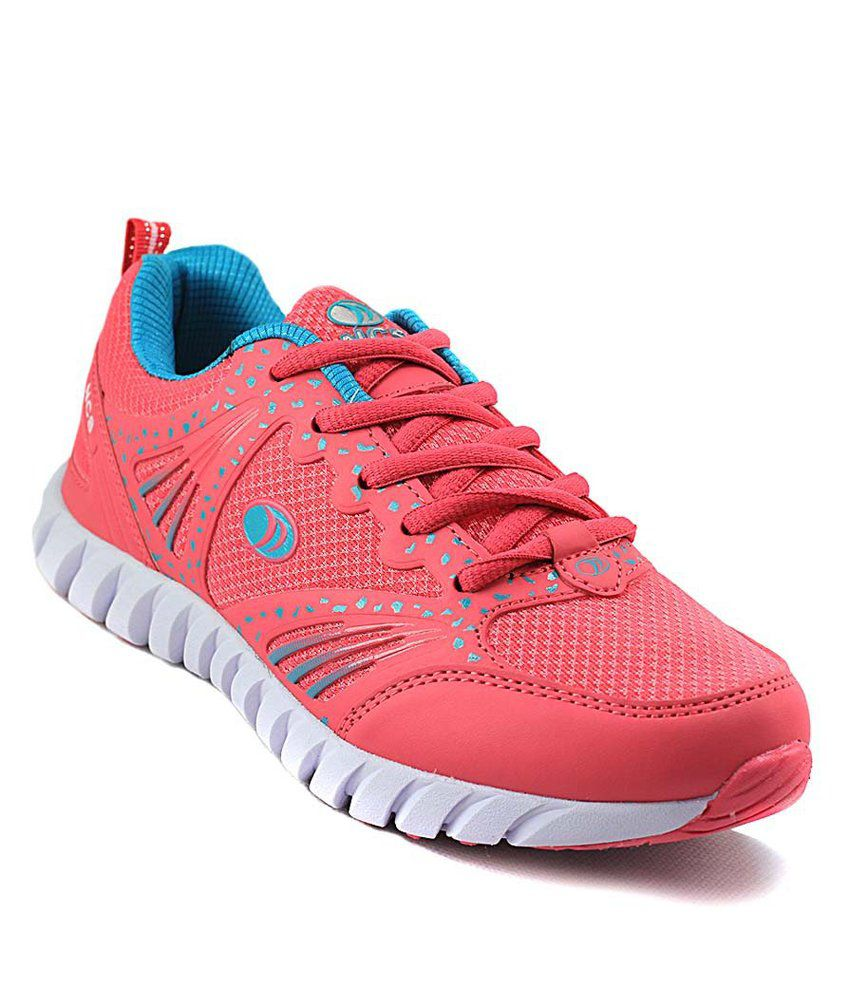 NCS Pink & Blue Mens Sports Shoes