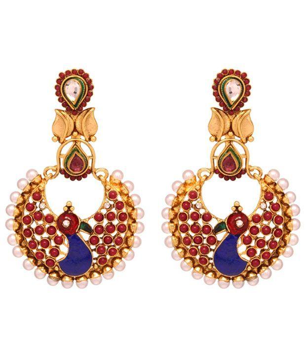 Vendee Trendy fashion earrings jewelry (7892)