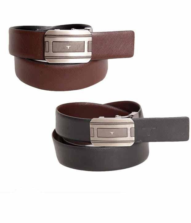 Bulchee Fabulous Black & Brown Reversible Belt