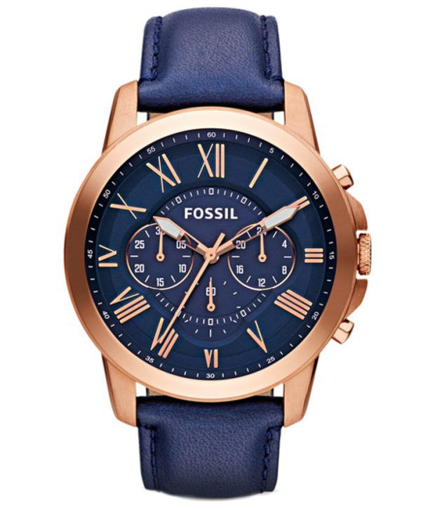 e9932f469 Fossil Fs4835 Men S Watch - Buy Fossil Fs4835 Men S Watch Online at Best  Prices in India on Snapdeal