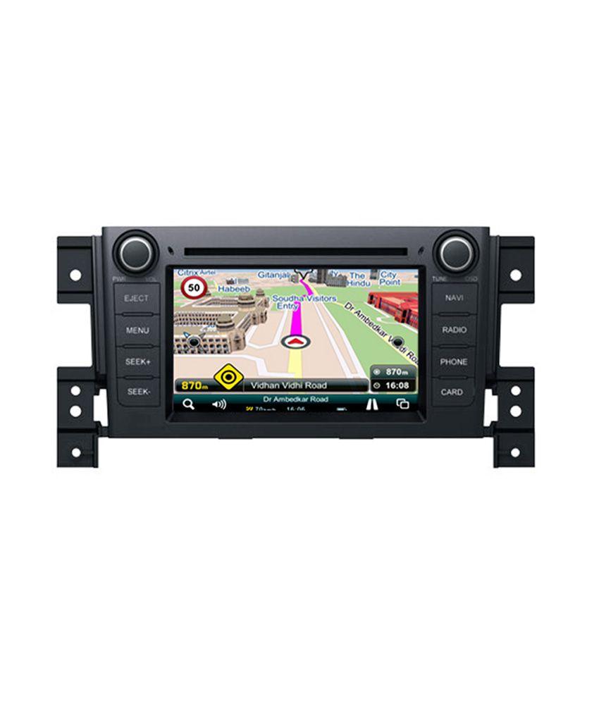 In Dash Navigation System : Mapmyindia in dash car navigation system maruti suzuki