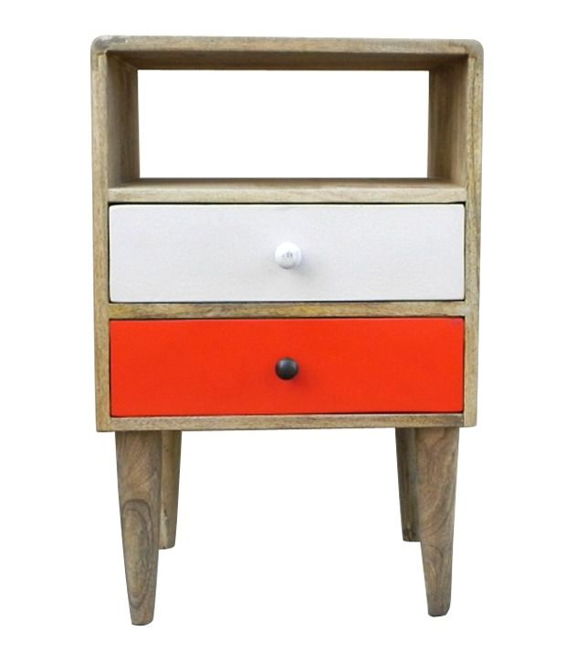 2 Drawer Bedsider (With Legs)