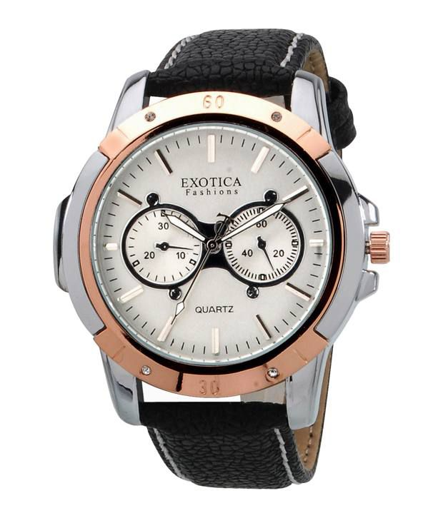 Exotica Fashions Wrist Watches EFG 05 TT DM W
