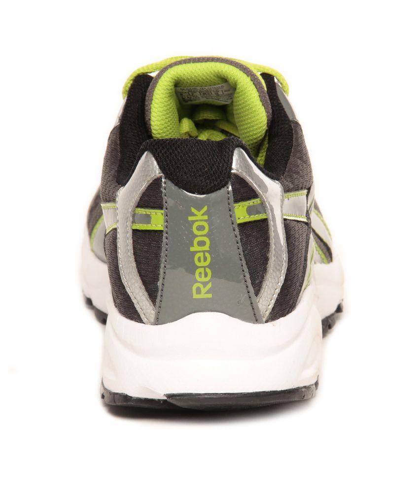 4d2a2597be3e0e Reebok Linea LP Grey   Lime Green Running Shoes - Buy Reebok Linea ...