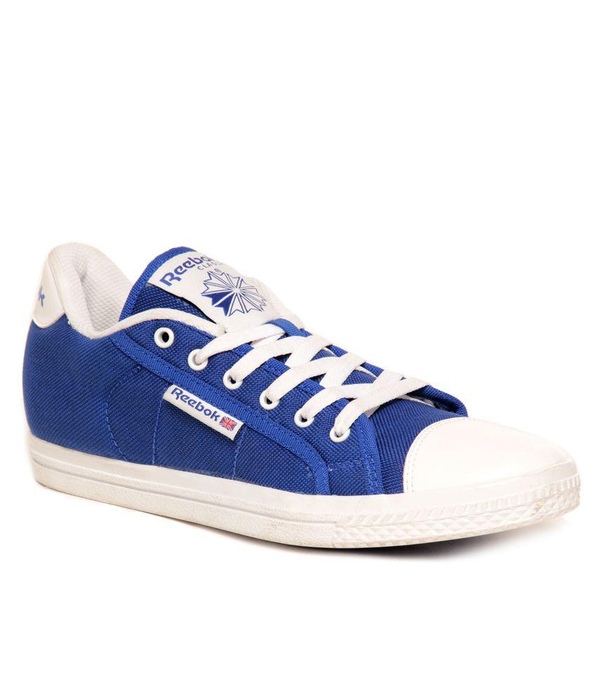 052ab5c79f3 Reebok Blue   White Sneaker Shoes - Buy Reebok Blue   White Sneaker ...