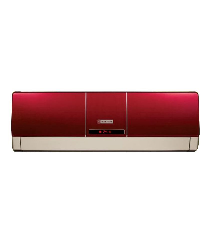 Blue Star 1.5 Ton 5 Star 5HW18ZARTX Split Air Conditioner Wine Red