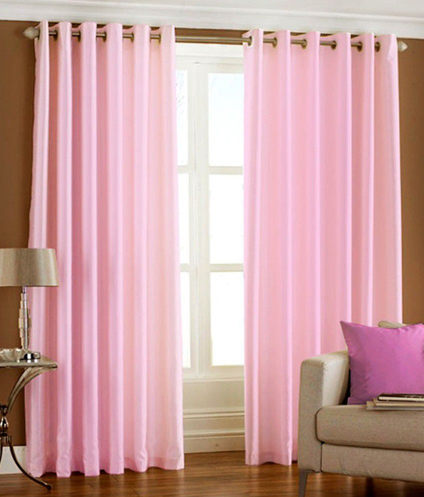 Light pink curtains - Baby Pink Curtains Eyelet Best 2017
