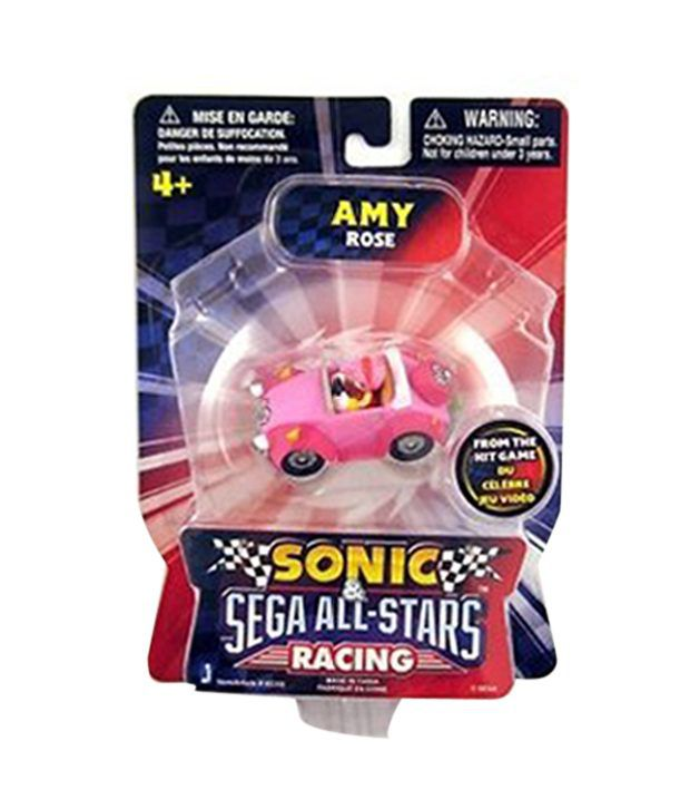 Sonic The Hedgehog Sega All Stars Racing Amy Rose Action Figure Vehicle Imported Toys Buy Sonic The Hedgehog Sega All Stars Racing Amy Rose Action Figure Vehicle Imported Toys Online At Low Price