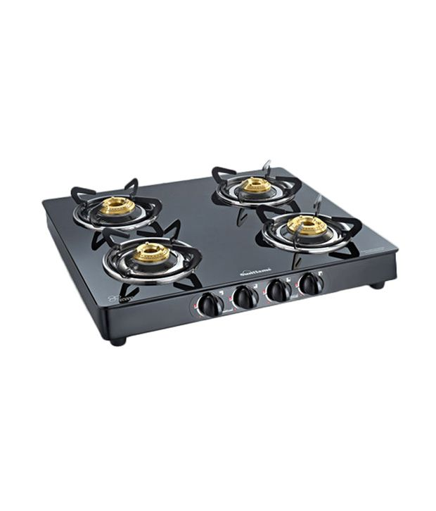 Sunflame-Crystal-4B-BK-4-Burner-Auto-Ignitio-Gas-Cooktop