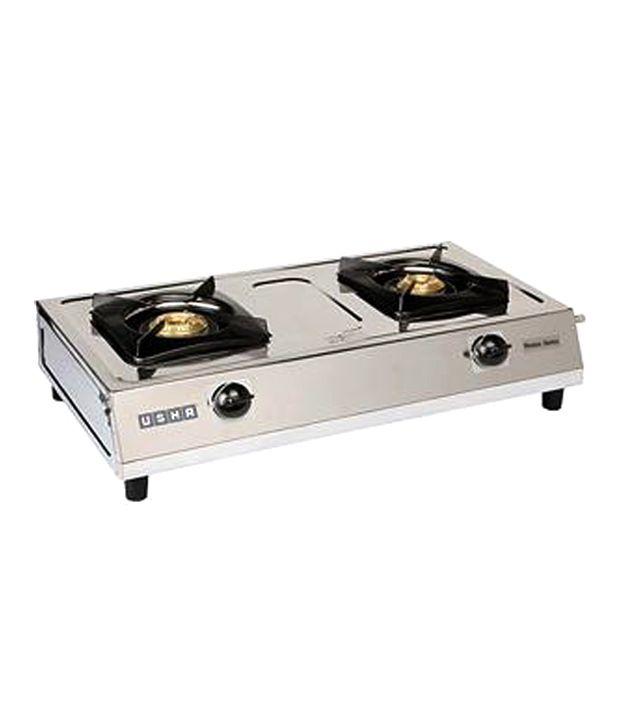 Usha Maxus GS2 002 2 Burner Gas Cooktop