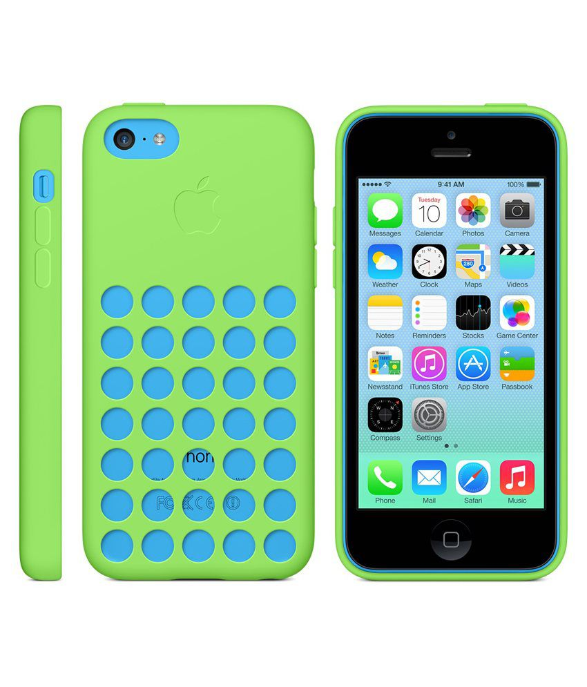 online retailer e5b47 3ff42 Apple Original Back Case for Apple IPhone 5C Green