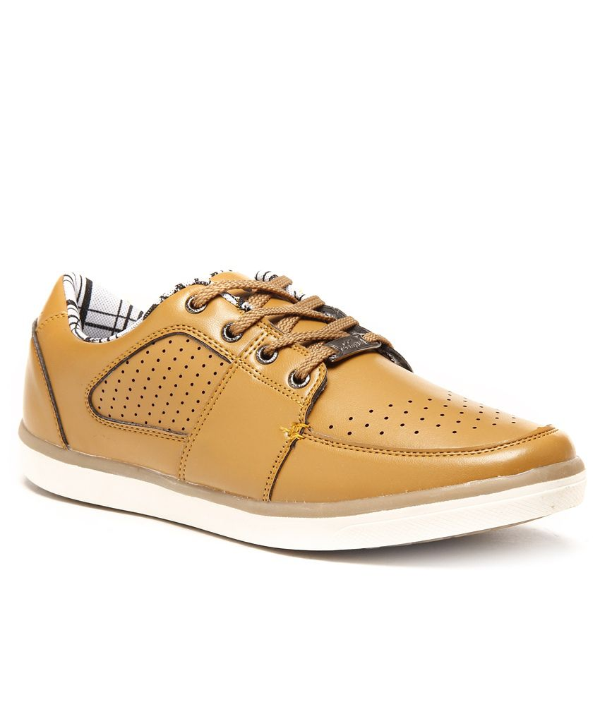 Campus Newlook Brown Casual Shoes - Buy