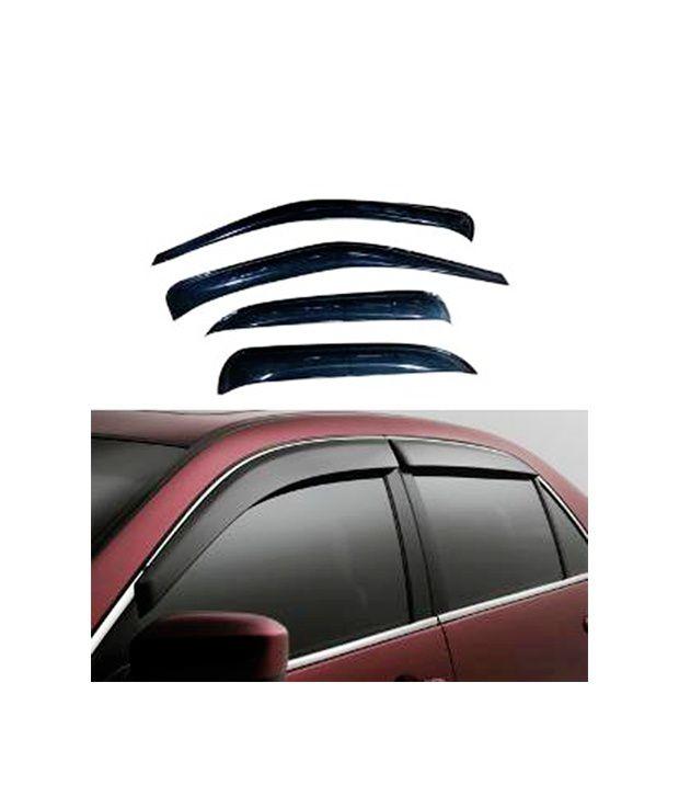 Dios - Car Rain Wind Door Visor Side Window Deflector For Hyundai i10  Buy  Dios - Car Rain Wind Door Visor Side Window Deflector For Hyundai i10  Online at ... 9b5897f684c