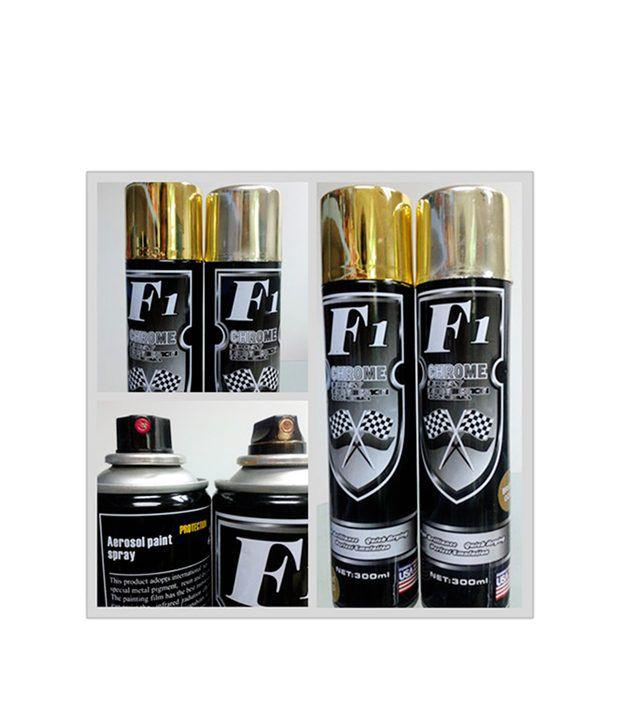 F1 f1 chrome spray paint buy f1 f1 chrome spray paint for Chrome paint price