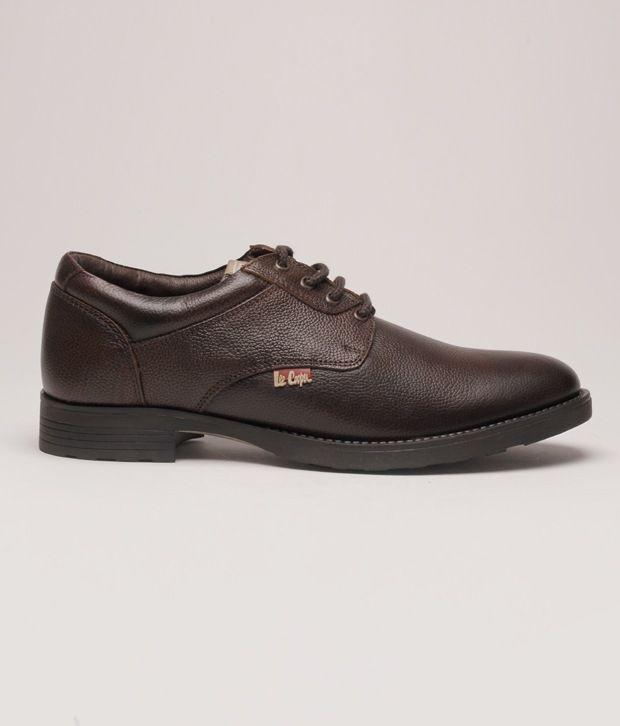 8b485a11fdc Lee Cooper Brown Formal Shoes Art ZLC9518BRN Price in India- Buy Lee ...