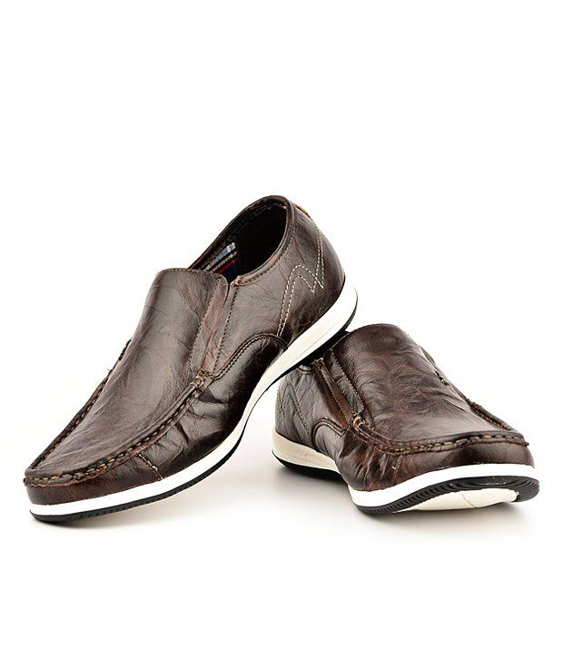 e9846eba77 Lee Cooper Brown Loafers - Buy Lee Cooper Brown Loafers Online at ...