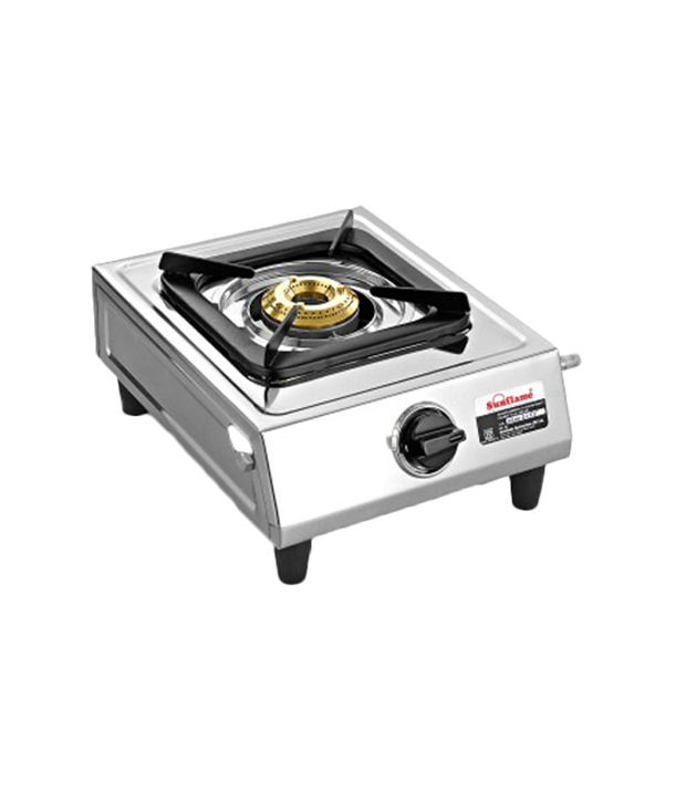 Sunflame Stainless Steel Gas Cooktop (Single Burner)