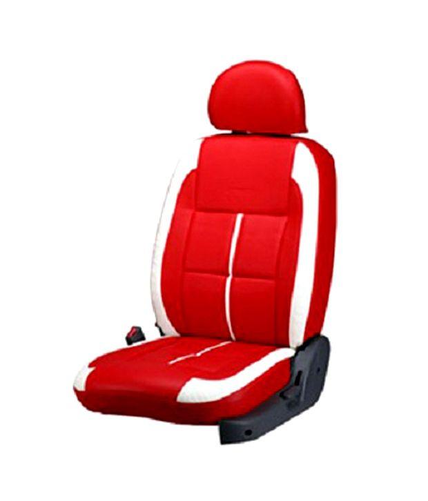 Bardi Jute Car Seat Covers Hyundai Red White Color Buy