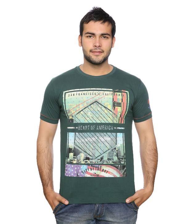 Duke Dazzling Green T Shirt
