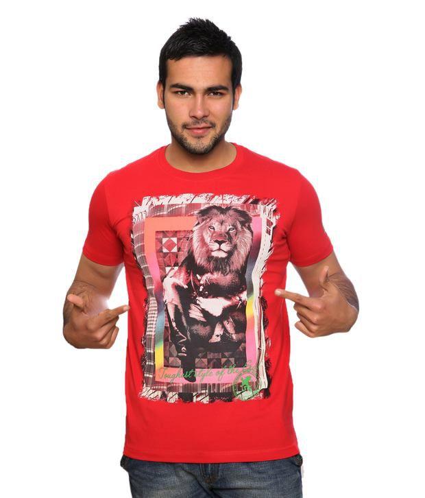 Duke Trendy Red T Shirt