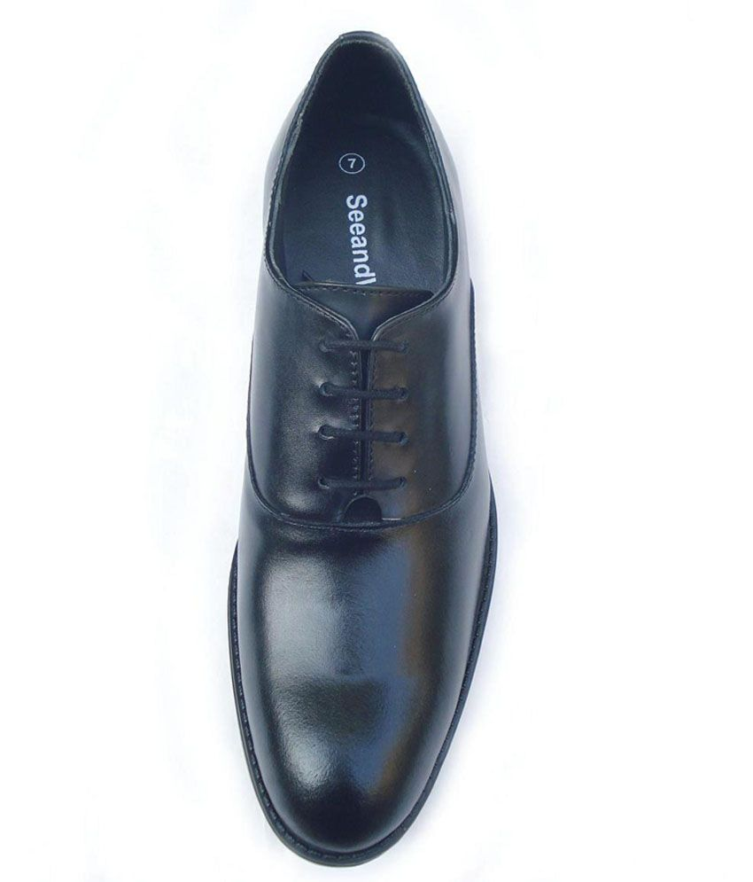 7a86b3691a SeeandWear Leather Formal Shoes Price in India- Buy SeeandWear ...