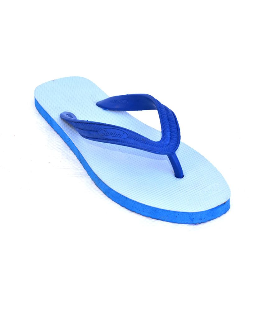 e57e2f73a5c2 Avi Rubber Arp-Hawai Blue Rubber Slippers Price in India- Buy Avi Rubber  Arp-Hawai Blue Rubber Slippers Online at Snapdeal