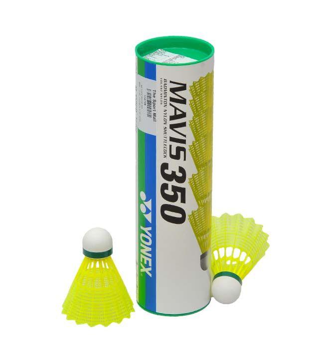 Yonex Mavis 350 Badminton Shuttle Cock  Pack Of 6