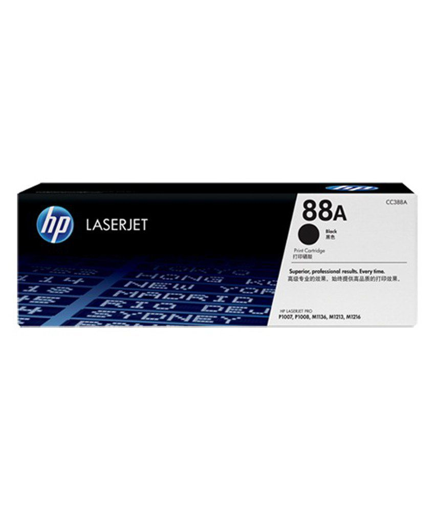HP 88A / CC388A Laser Toner For P1007/P1008/1106/1108/M1136/M1213nf/M1216nfh/M1218/