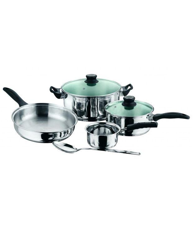 Kitchen Essentials Induction Friendly Glass Lid Sauce Pan