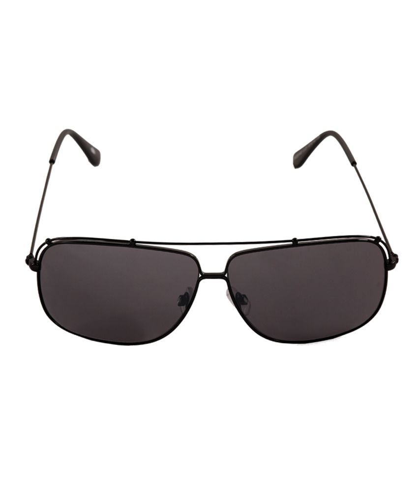 Stol'n Black Metal Aviator Sunglasses