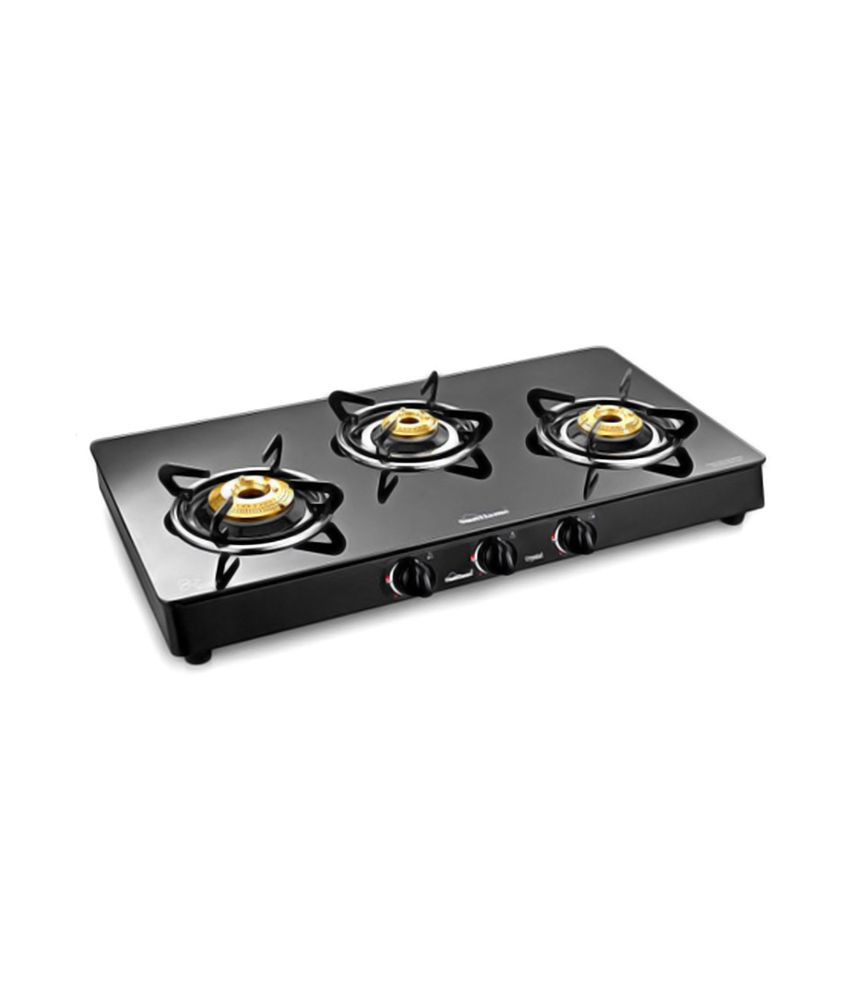 Gas Cooktop Glass Sunflame Crystal Glass Top Toughened Glass 3 Burner Bk Gas Stove