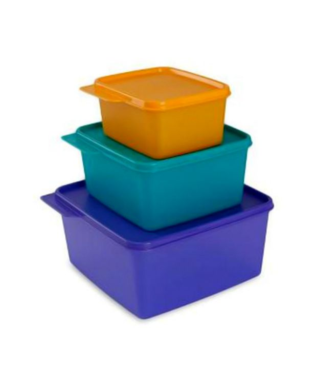 Tupperware Keep Tabs - Set of 3 (200 ml + 500 ml + 1200 ml)