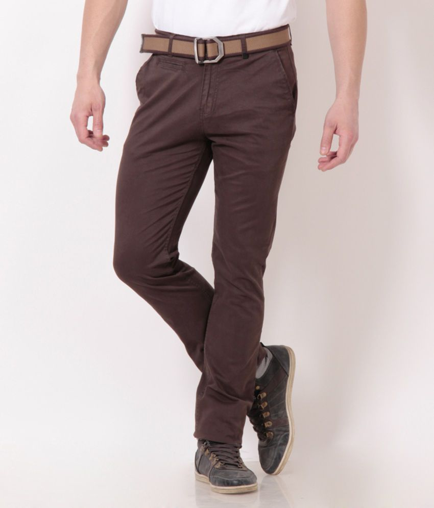 Fort Collins Exclusive Brown Chinos