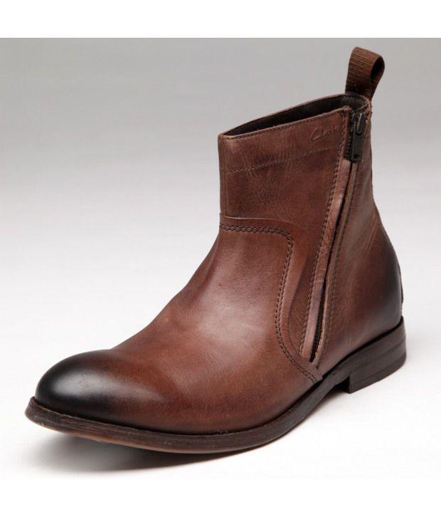 Clarks Brown Men - Boots