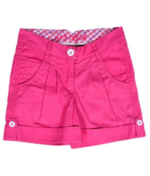 612Ivyleague Adorable Magenta Shorts For Kids