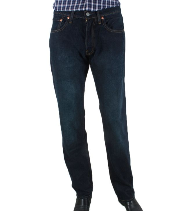 Levis Voguish Dark Blue Jeans By Ritu Wears