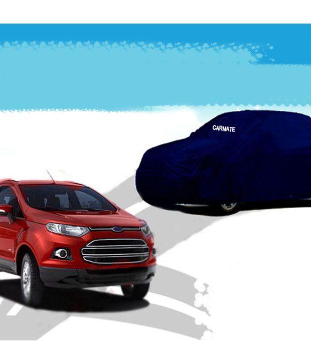 autofurnish car body cover ford ecosport parker blue buy autofurnish car body cover. Black Bedroom Furniture Sets. Home Design Ideas
