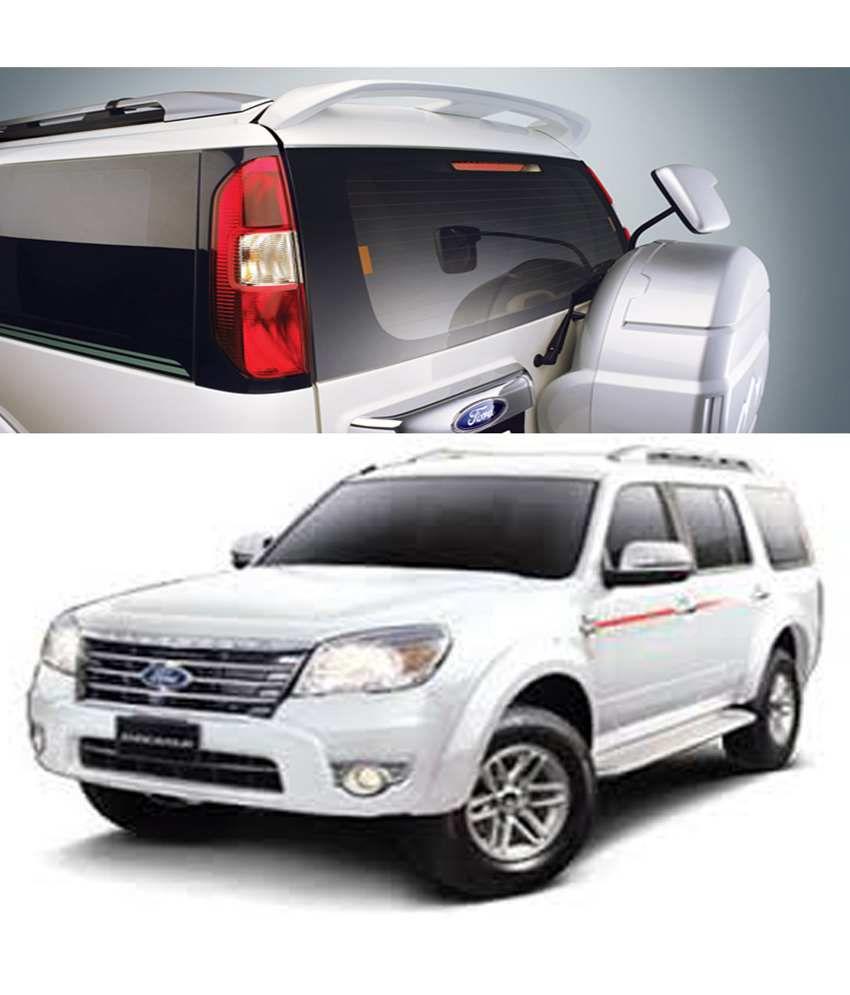 Shopper\'s Hub - Car Body Coloured Spoiler - Ford Endeavour - Diamond ...