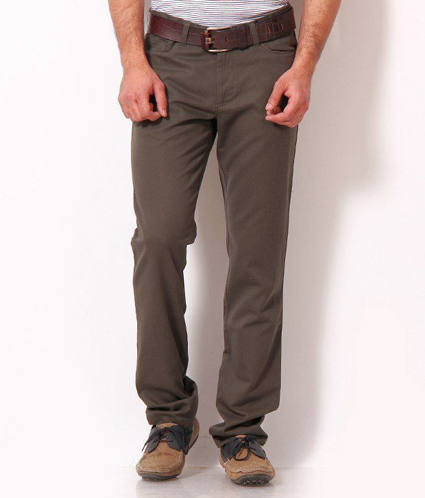 John Players Earthy Brown Trousers