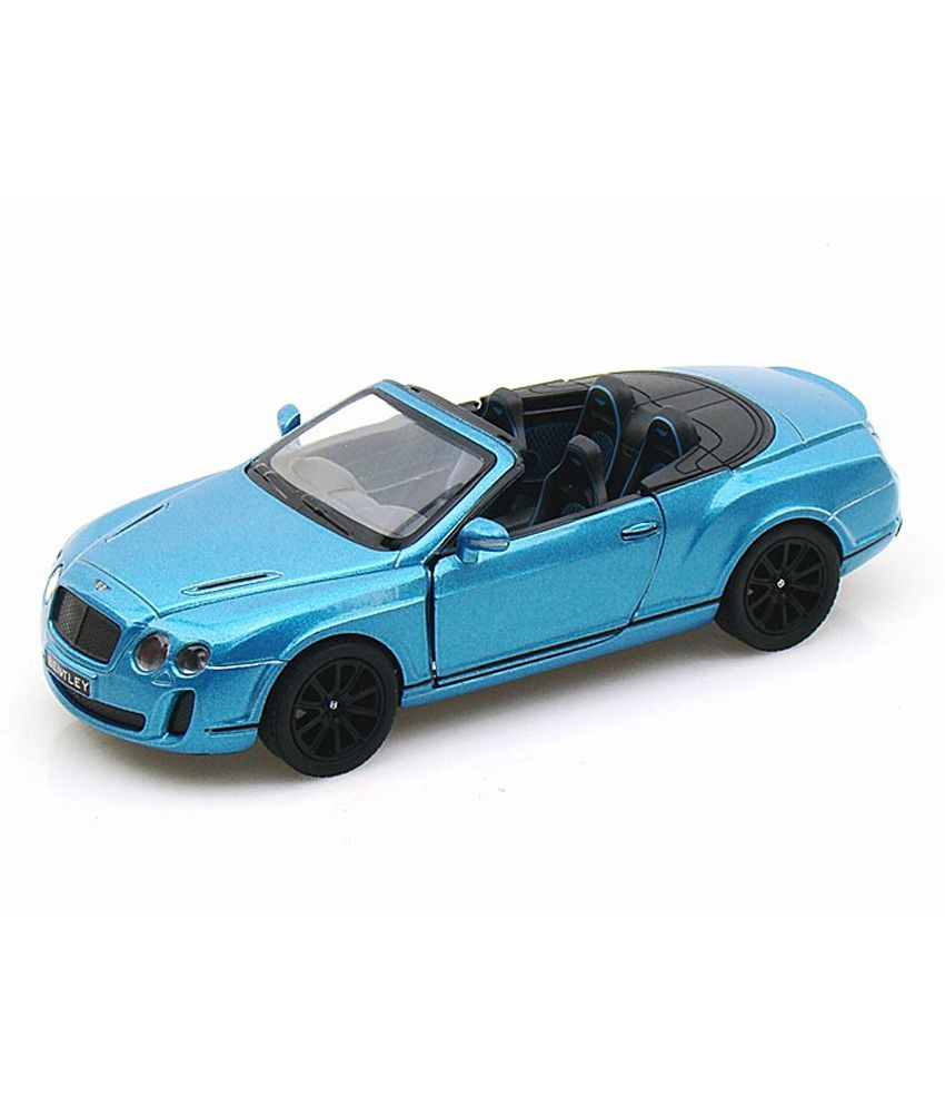 Bentley Convertible Price: Kinsmart Diecast 1:38 Scale 2010 Bentley Continental