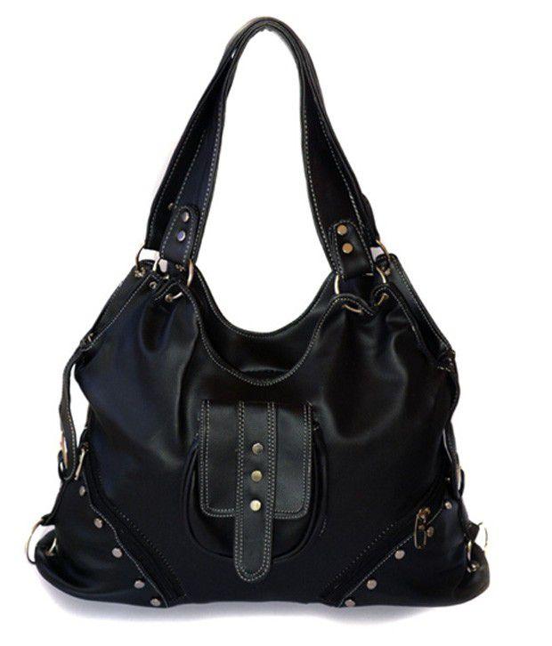 Starz Black Bag With Studs
