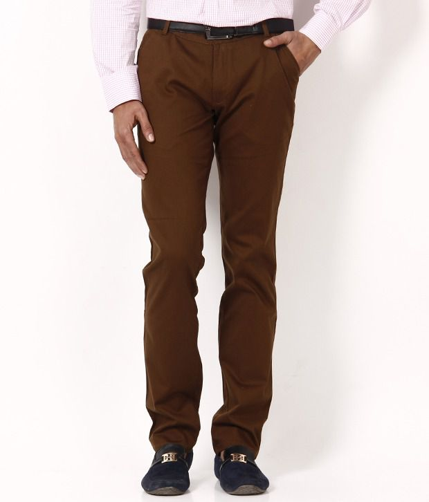 British Terminal Brown Chinos