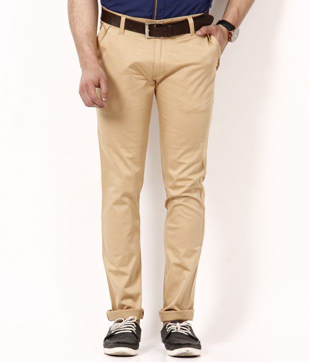 British Terminal Smart Beige Chinos